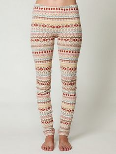 Free People sweater leggings, WANT!