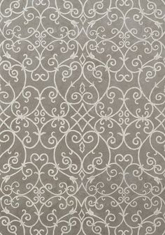 POSITANO, Silver, T7690, Collection Damask Resource 3 from Thibaut