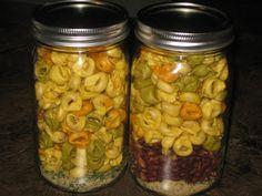 The Fusspot: gifts in a jar- Italian Tortillini Soup