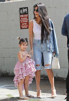Penelope & Kourtney Kardashian