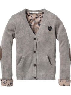 Love! Mohair cardigan with star lining : Scotch & Soda