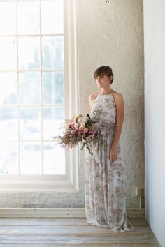 Alana Bridesmaid Dress by Donna Morgan for BHLDN | image by Terrain