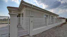 Casa pe parter in Corbeanca | CoArtCo House Gate Design, Garage Doors, Outdoor Decor, Home Decor, Houses, Modern, Homemade Home Decor, Decoration Home, Interior Decorating