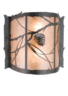 Rustic Country Wall Sconces