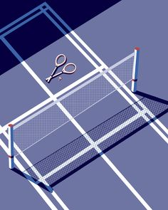 The geometry of sport 🤓 Tennis Wallpaper, Sunset Wallpaper, Aesthetic Images, Blue Aesthetic, Shokugeki No Soma Anime, Le Tennis, Sports Graphic Design, Tennis Gifts, Tennis Fashion