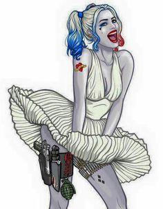 Harley Quinn Marilyn