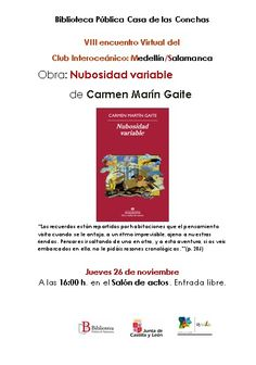 Carmen Martin Gaite, Reading Club