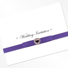 Sweetheart Folded Invitation
