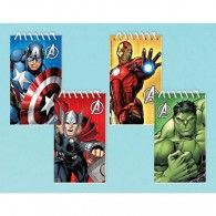 Your friends will love to doodle in one of these Avengers Assemble Notepads! The package includes 12 assorted notepads that each contain 20 sheets of paper. The notepads feature Iron Man, Thor, Captain America and the Incredible Hulk. Avengers Superheroes, Avengers Age, Party Bag Toys, Superhero Birthday Party, Birthday Ideas, 10th Birthday, Halloween Stickers, Party Bag Fillers, Party Packs