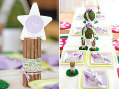 DIY Tutorial: Woodland Namecard Holders - Hostess with the Mostess®