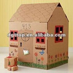 1000 images about cases de cartr on pinterest - Casas para ninos de carton ...
