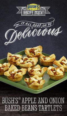 Bush's® Apple and Onion Baked Beans Tartlets: Need easy Thanksgiving ...