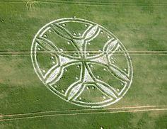 Crop Circle at Westwoods, Wiltshire - 2011 Crop Circle Season