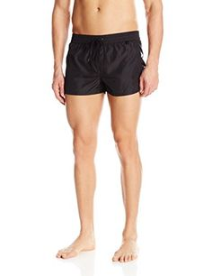 99079ec18d Introducing Diesel Mens Sandy 2 Inch Quick Dry Fold and Go Swim Trunk Black  XLarge. Great product and follow us for more updates!