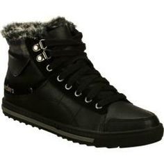 purchase cheap b2cce 33aff Womens Skechers Kicks Coolest Black High Top Sneakers, Shoes Outlet,  Skechers, High Tops