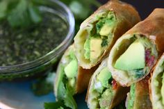 Avocado Eggrolls Recipe and Video