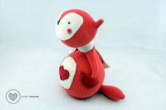 Child Friendly Sock Doll Fox the Foxy in