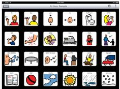 The newest and best iOS Apps for children with autism ! TapSpeak Choice for iPad re-interprets low- to mid-tech communicator for the iPad. It's a complete communication board editor and player that saves up to 75% of the setup time over conventional devices and virtually eliminates maintenance time. Use the DynaVox/Mayer-Johnson PCS library, your own photos or images, and geometric symbols for visual targets. You can record your own voice for playback (a set of sample libraries include a pre-...