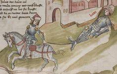 Thomasin <Circlaere>   Welscher Gast (a) Schwaben, um 1460-1470 Cod. Pal. germ. 320 Folio 32r
