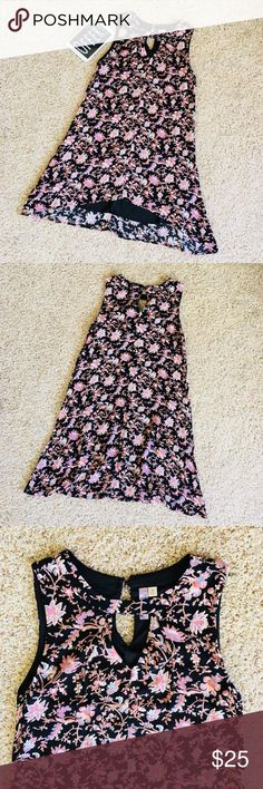 💐 [size: M] Alya Long High-Low Floral Dress Like New With Abosolutley No Rips Or Tears! Grab This Fast Before It Is Gone! Perfect For The Brisk Fall Weather. Accepting All Reasonable Offers and Able To Ship The Same Day!   Great Condition   No Stains   Fully Inspected  Size: M Alya Dresses High Low