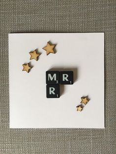 Gay Wedding Card / Male Wedding Engagement Card