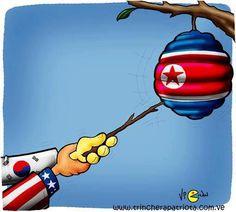Amenaza Corea del Norte con atacar con bombas nucleares a EUA y Japón