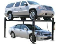 Garage Pro 8000 - 8,000 lb. Capacity Garage Hoist, Garage Car Lift, Car Hoist, Garage Tools, Garage Shop, 4 Post Car Lift, Four Post Lift, Automotive Shops, Restoration Shop