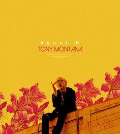 "▲ Agust D mixtape tracklist ▲ ""01. Intro ; Dt sugA (Feat. DJ Friz) 02. Agust D 03. give it to me 04. skit 05. 치리사일사팔 (724148) 06. 140503 새벽에 (140503 at dawn) 07. 마지막 (The Last) 08. Tony Montana (Feat. Yankie) 09. Interlude ; Dream, Reality 10. so far..."