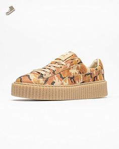 b79e3540534d29 Puma x Rihanna Fenty Women Suede Creepers - Camo (orange   camo) Size 8 US    Check out this great product.
