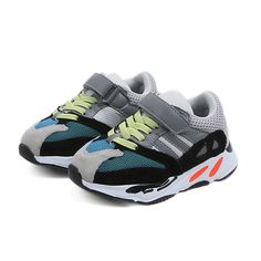 b9db06fea3e Fashion Star Patch Toddlers Trainer Kids Shoes Soft Leather Boys ...
