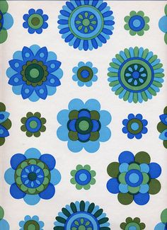 Vintage Wallpaper by LarkingAbout, via Flickr