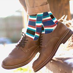 Every pair of Statement Sockwear socks purchased provides 100 days of clean water for someone in Africa. Make a difference. Red Socks, Funky Socks, Men's Socks, Colorful Socks, Fashion Socks, Mens Fashion, Vogue, Bikini, Designer Socks