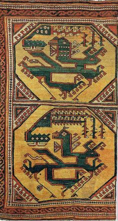 Ming carpet, first half of the 15th c. National State Museum Berlin