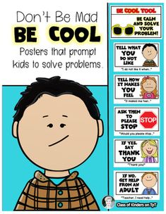 Strategy Posters to Prompt Problem Solving in the Classroom. Kindergarten and First Grade. $