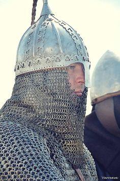 Viking-age rus viking re-enactors, Rusborg - photo by Varraeva Olga