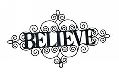 Believe.....this brings peace to me.....