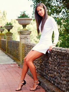 Ana Ivanovic Anna, Ana Ivanovic, Beautiful Athletes, Tennis Players Female, Girl Celebrities, Some Girls, Sexy Skirt, Poses, Sports Women