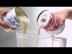 Gelatina de Yogurt con Salsa de Fresas ♥ Yogurt Jello with Strawberry Jelly ♥ Postres San Valentin - YouTube