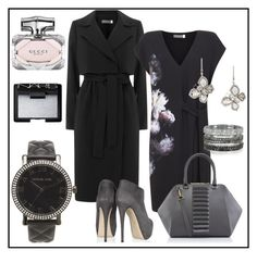 """""""Untitled #84"""" by glamheartcafe ❤ liked on Polyvore featuring Mint Velvet, Kristina George, Bernard Delettrez, Saqqara, Michael Kors, Gucci and NARS Cosmetics"""