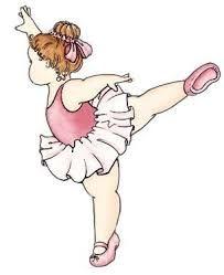 Resultado de imagem para desenho de bailarina rosa