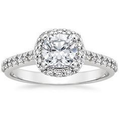 if we could just pay down those student loans :-/  Fancy Diamond Halo Ring #BrilliantEarth