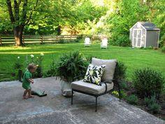 patio flower beds