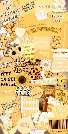 Yellow aeshetic edit icon wallpaper Daha fazlası için lütfen takip edin ~> @polar_code<br>