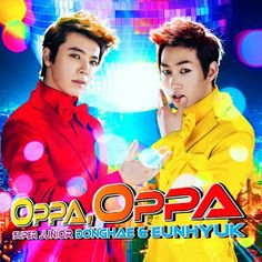 Donghae & Eunhyuk: Two hotties in one place