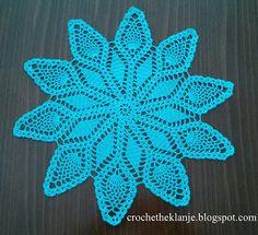 Crochet Heklanje: Moj rad - Motiv 5