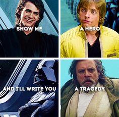 I am a Jedi, like my father before me. #starwars