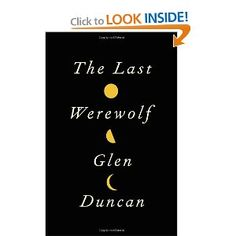 Tired of vampires? First of a trilogy ... excellent, lesser-known read and a different take on the Werewolf history and legend.