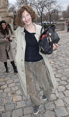 Jane Birkin Photos - Jade Jagger and Others at Paris Fashion Week - Zimbio