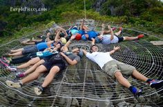 Giant #Cobweb! Only in the Philippines - Masungi Georeserve #Travel