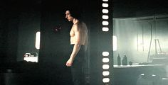 Shirtless Kylo Ren? Yes please #starwars #thelastjedi